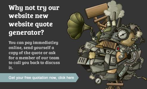 Web design quotation genertaor